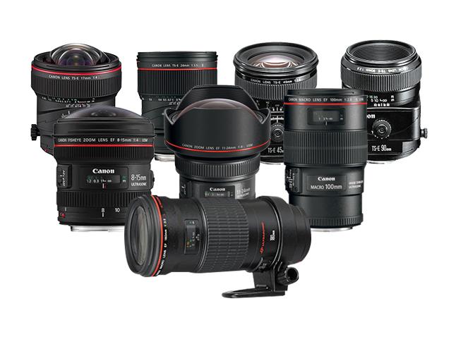 Canon Specialty Lens Specs
