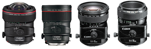 Canon Tilt Shift Lenses