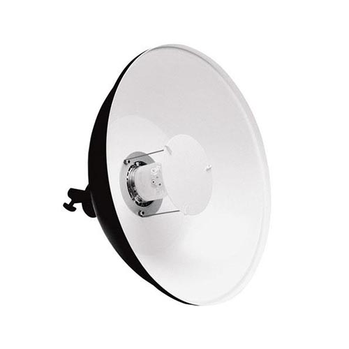 Beauty Dish White or Silver