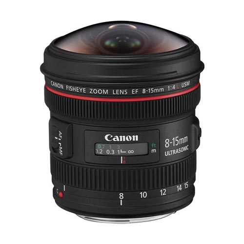 EF 8-15mm f/4.0 Fisheye