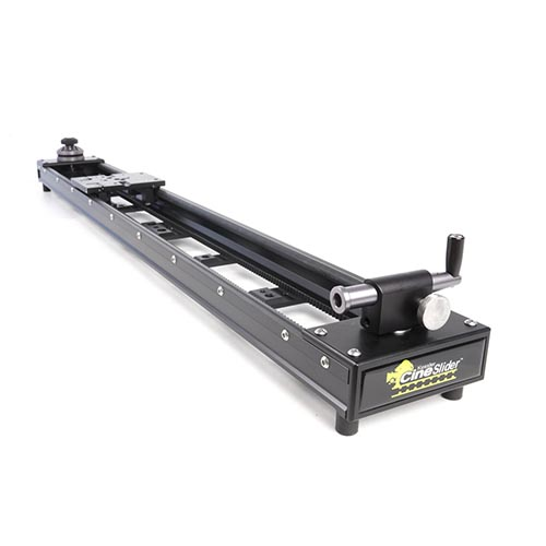 Kessler 5' Cine Slider with 2 - 20 C Stands and Manfrotto 501HD