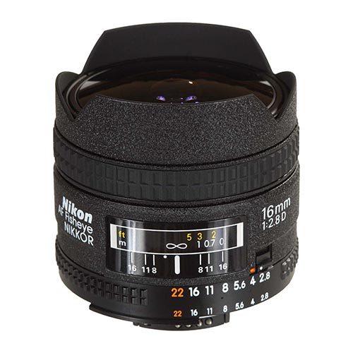 Nikon 16mm f/2.8 AF D DX Fisheye