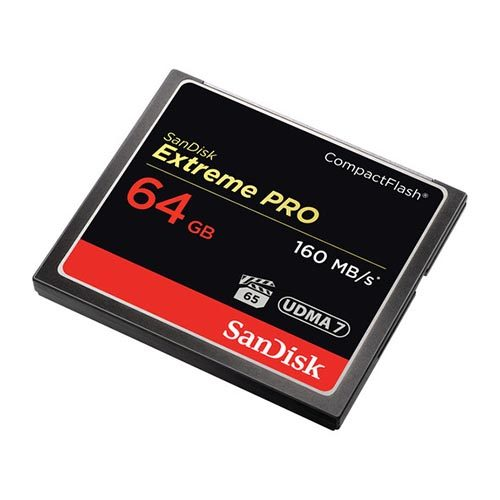 Sandisk 64GB Extreme Pro CF Cards