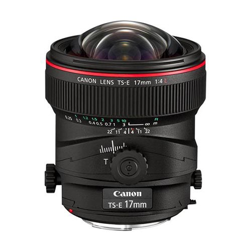 TS-E 17mm f/4.0 L (no hood)