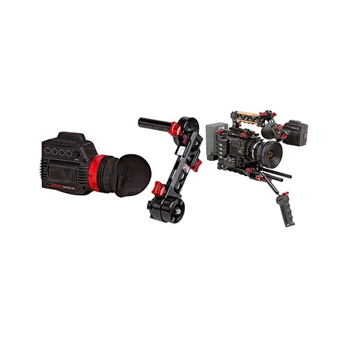 Zacuto Recoil for Sony FS7 with Gratical HD EVF
