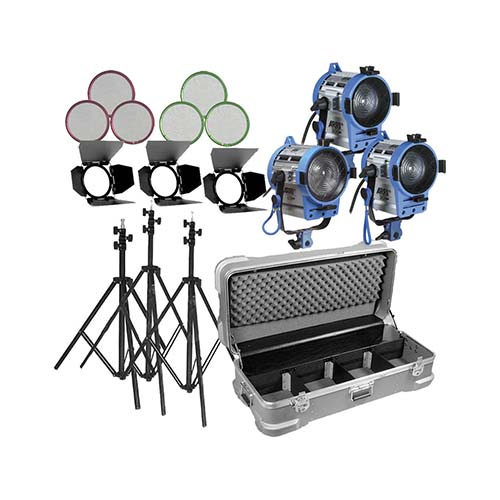 ARRI Fresnel 1K - 3 light kit