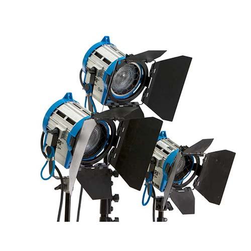 ARRI Fresnel 3 Light Kit