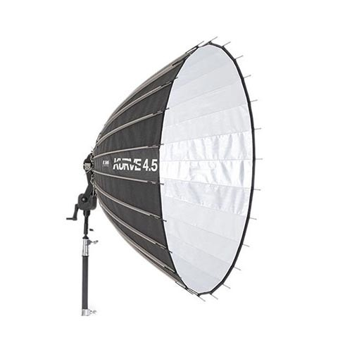 Kurve 4.5' Reflector with Front Diffusion Panels