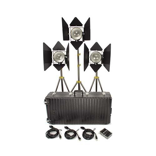 Lowel 1000W DP - 3 head kit