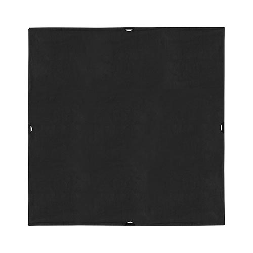 Scrim Jim Cine Solid Black Fabric